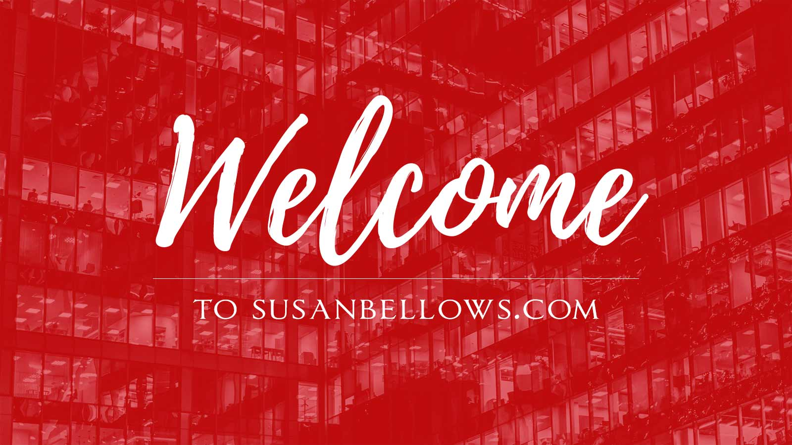 Welcome to Susanbellows.com
